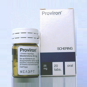Proviron 25 (Proviron - 1-methyl-dihydrotestosterone)
